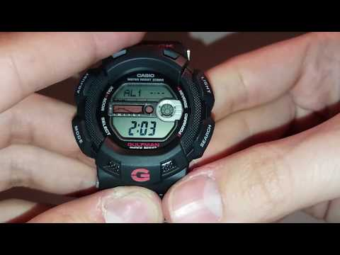 G-Shock G-9100 Review ALARM
