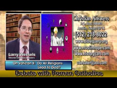 DEBATE: CHRISTIANS VS PAPISTS - CAN IGNORANCE & BELIEVING IN ANY OR NO GOD STILL GET YOU TO HEAVEN?