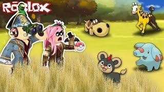 Pokemon Brick Bronze Ep 4 - Catturiamo Pokemon Nella Savana!! - Roblox ITA - #31