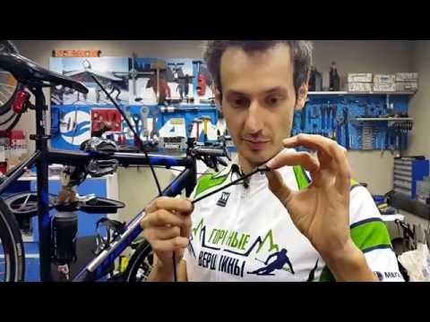 Замена рубашек на велосипеде