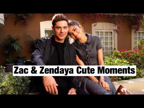 Zac Efron & Zendaya | Cute Moments