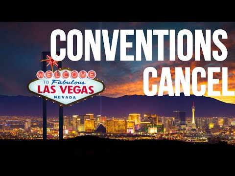 Vegas News - Two Major Conventions CANCEL. What Happens Next?