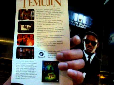 Retro Gaming Review MEN IN BLACK THE GAME PC WINDOWS 95 CD ROM Unboxing.