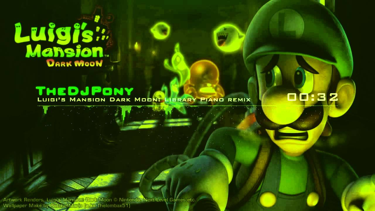 Thedjpony Library Piano Remix Luigi S Mansion 2