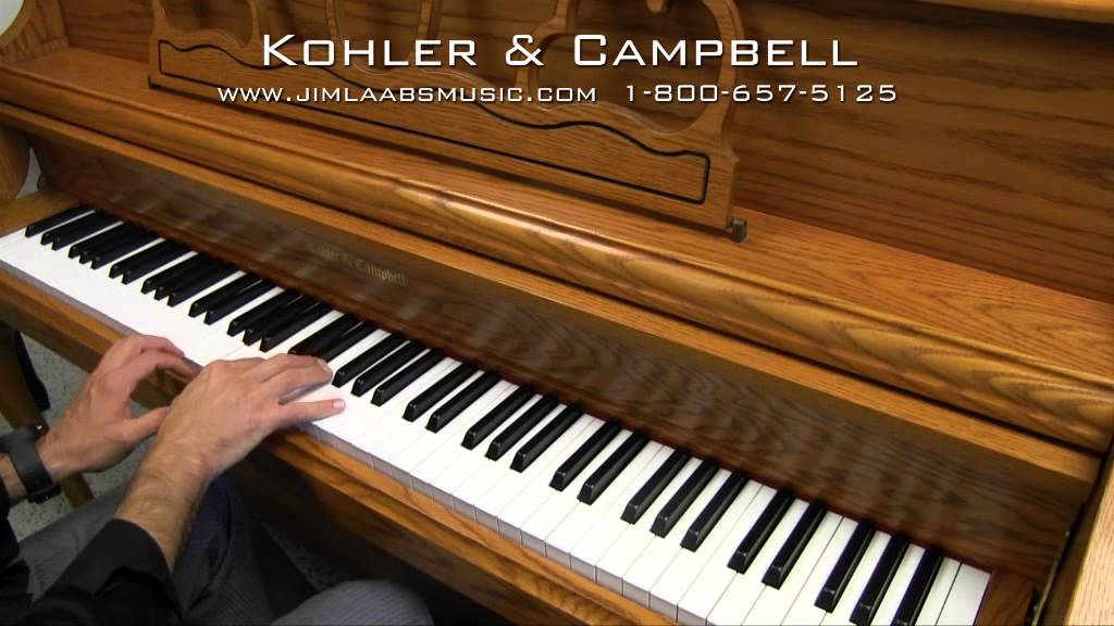 Kohler & Campbell Upright Piano - YouTube