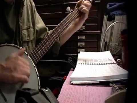 Darling Corey With TAB  CLawhammer banjo