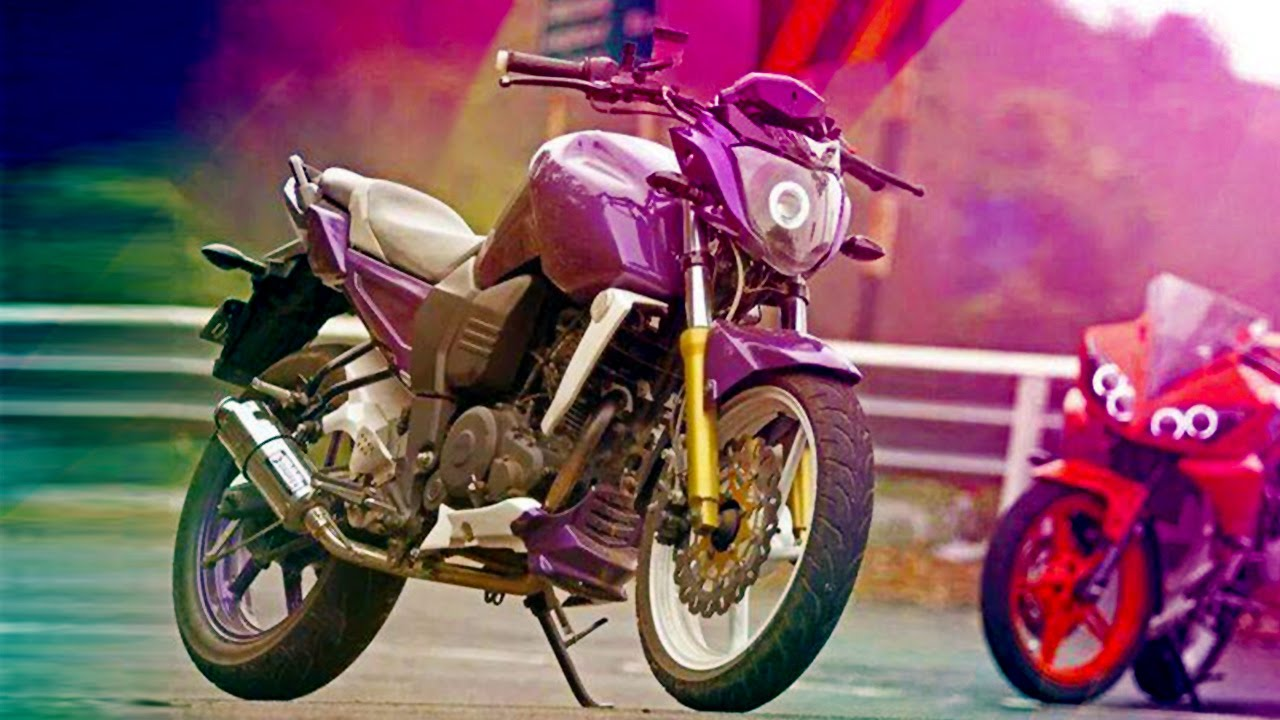 Best modified yamaha fz bikes youtube