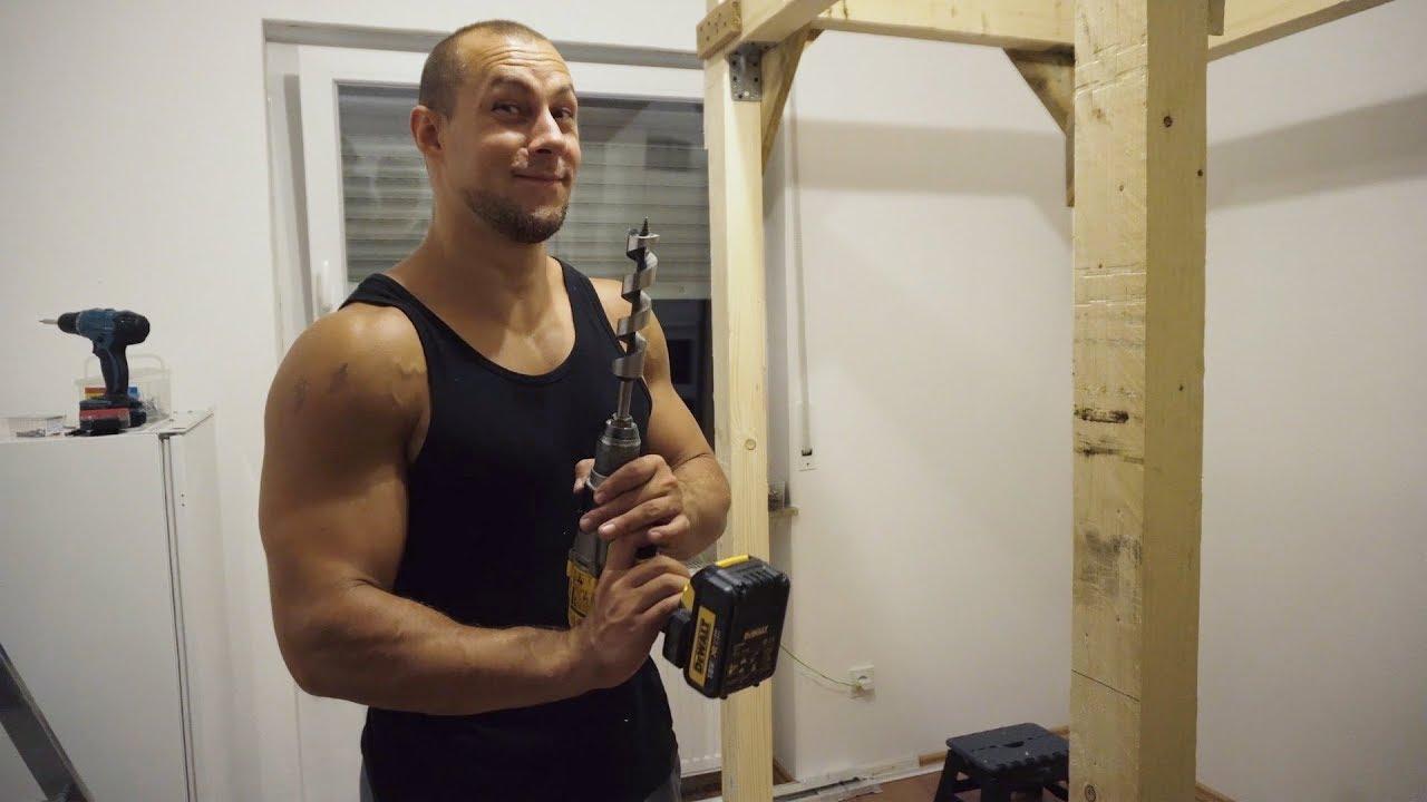 Bevorzugt Farmers Gym Strongman Training   Power Rack selber bauen aus Holz FX41