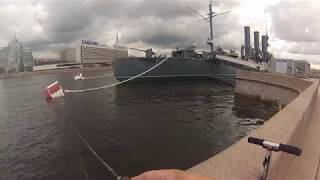 рыбалка Санкт-Петербург река Нева ( Fishing St. Petersburg river Neva )