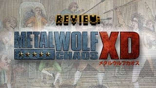Review: Metal Wolf Chaos XD (Video Game Video Review)
