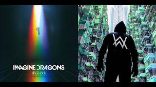 Song Of The River - Imagine Dragons vs Alan Walker (Mashup)