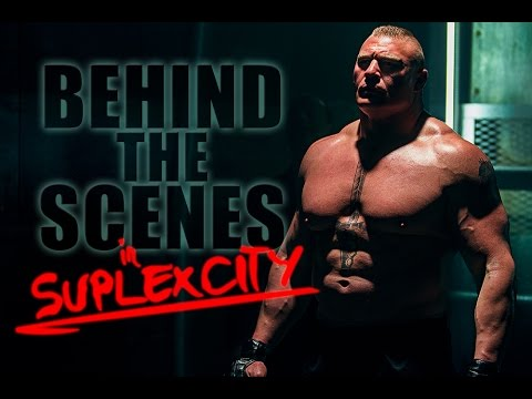 EXCLUSIVE BEHIND THE SCENES w/ BROCK LESNAR AND PAUL HEYMAN IN SUPLEX CITY