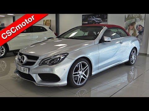 Mercedes-Benz E Cabrio - 2016 | Revisión en profundidad y encendido