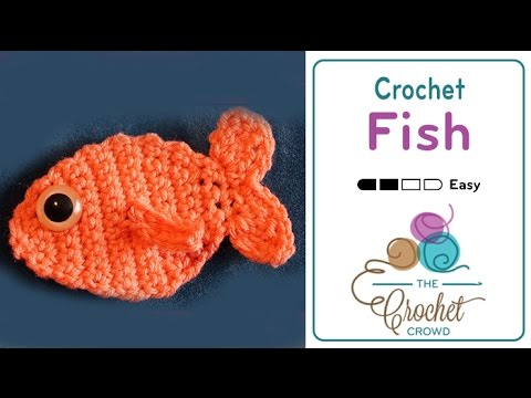 How To Crochet A Fish Youtube