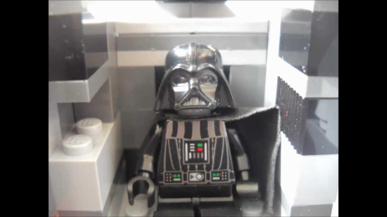 Vaisseau de dark vador en lego youtube - Vaisseau de dark vador ...