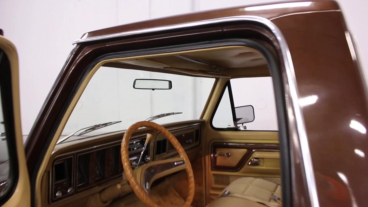 2354 Dfw 1977 Ford F 150 Ranger Xlt Youtube 1970