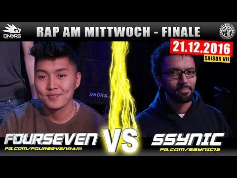 RAP AM MITTWOCH FRANKFURT: FOURSEVEN vs SSYNIC 21.12.16 BattleMania Finale (4/4) GERMAN BATTLE