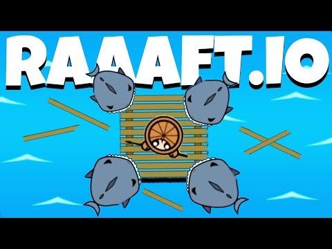 Destroying Sharks and Hunting Pirates! - Raaaaft.io Game - Raaaaft.io Update