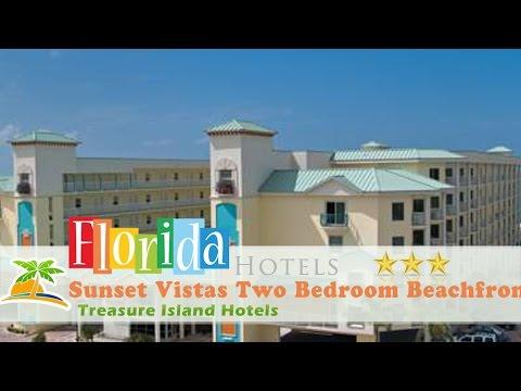Sunset Vistas Two Bedroom Beachfront Suites - Treasure Island Hotels, Florida