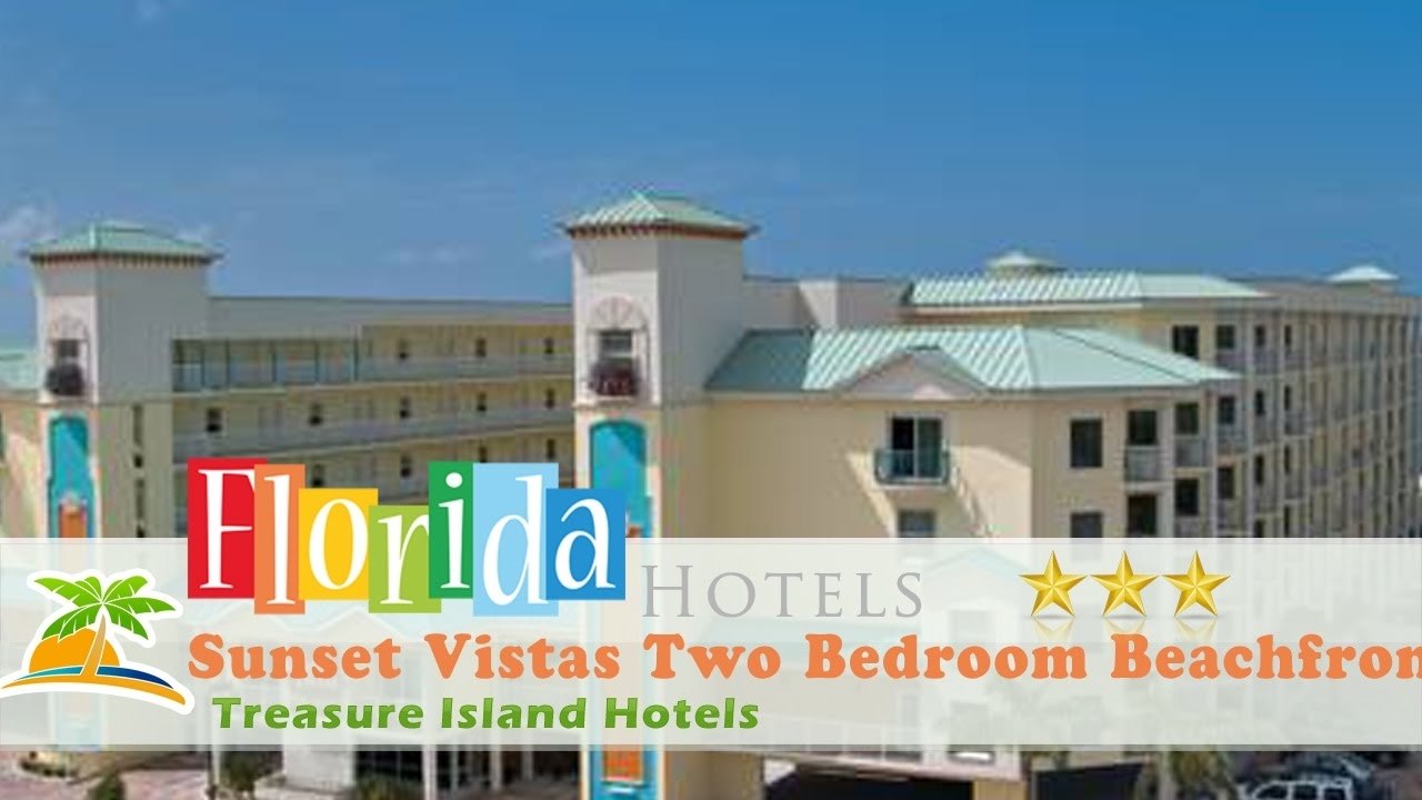Sunset Vistas Two Bedroom Beachfront Suites Treasure Island Hotels Florida Youtube