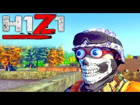 HUNTING FOR CRAZY PEOPLE | H1Z1 Survival Gameplay