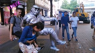 ''awesome street performer + 2 losers (watch this)