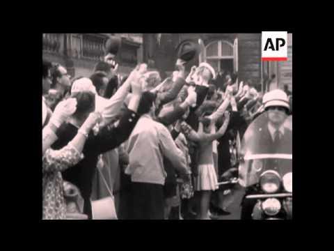 Belgians Greets Paola - 1959