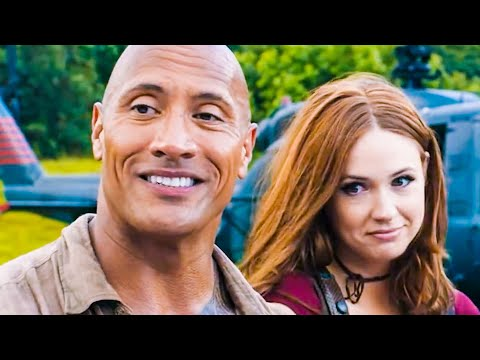 JUMANJI 2 Funny Outtakes + Bloopers (2017) Welcome To The Jungle