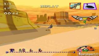 Wacky Racers PC - 10 FPS Replay Experiment