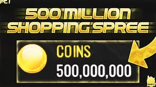 500 MILLION COIN SHOPPING SPREE PT1!!! | NBA LIVE MOBILE  | BIGGEST ON YOUTUBE!!