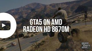 gta 5 gameplay   amd radeon hd 8670m 1gb   4gb ram   intel core i5