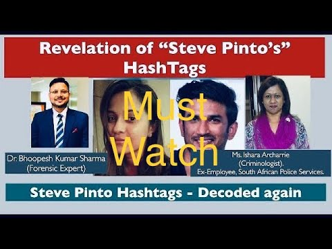 Download Biggest Revelation || What is hidden in Steve Pinto hashtags || SSR