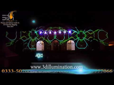 Building Projection Mapping in Pakistan lights and Sound Show