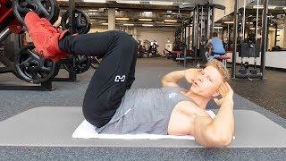 Effektives Bauchmuskeltraining - Bauchmuskeln RICHTIG trainieren! Top 6 Übungen