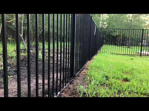 Electrify metal fence