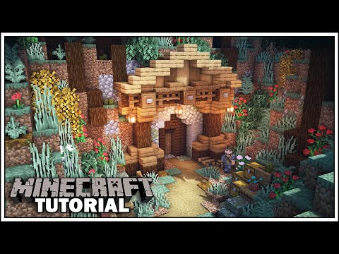 Minecraft Mining Entrance Tutorial [How to Build]