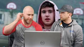 2 BRITISH GUYS React to QUADECA - INSECURE (KSI DISS)!!!