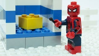- Lego Spider man Matching Brick Objects Superheroes Funny Animation