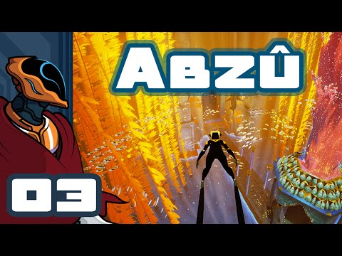 Let's Play ABZU - PC Gameplay Part 3 - Aww, It's A Manatee!