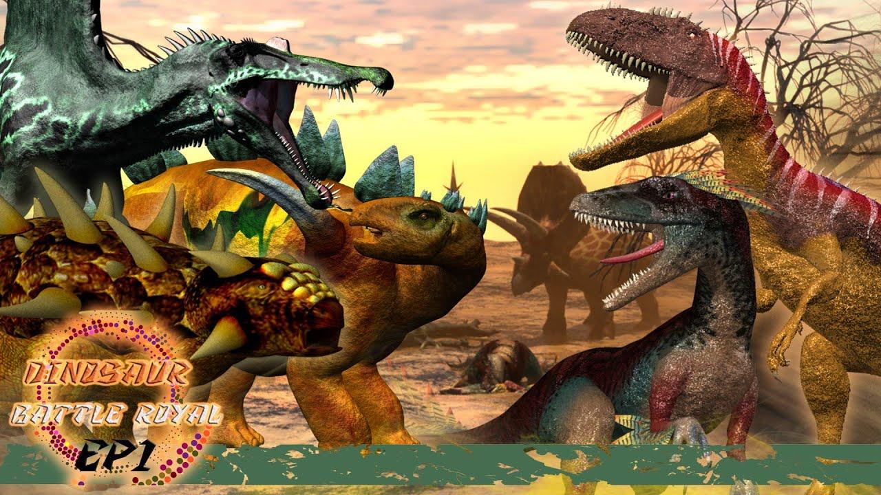 Download Dinosaur Battle Royal  EP1