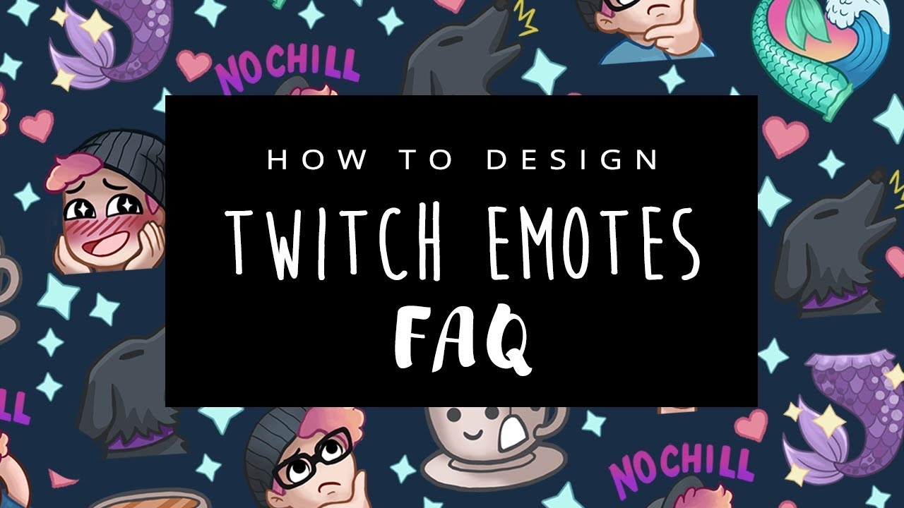 How To Design Twitch Emotes - Frequently Asked Questions