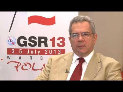 GSR13: Dr. Leonidas Kanellos, BEREC Chair, President Hellenic Τelecoms & Post Commission |  modern