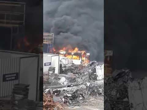 OSB Araç yangını