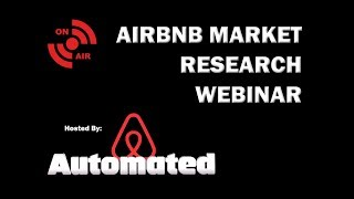 Gambar cover Forget AirDNA | You Need This Free Market Research Webinar | Airbnb Host Growth Hacking 2018