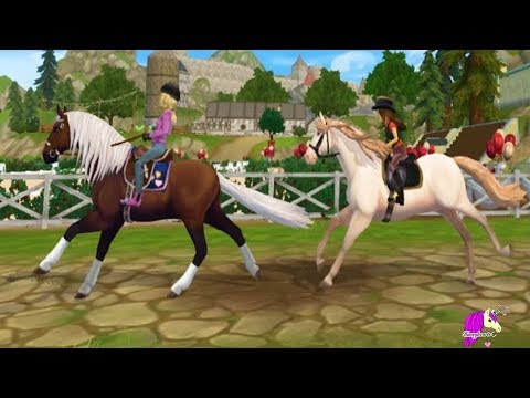 Map Update ! Trail Ride with New Andalusian Horse Star Stable Online Horse Game Video