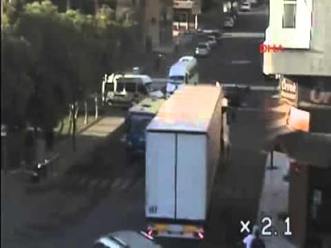 Nizip'te Mobese'ye yansıyan trafik kazaları