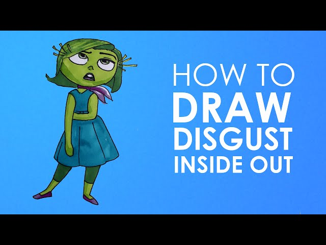 How to draw Disgust - Inside out Download video - get video