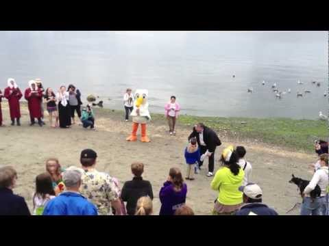 Kitsap County Harbor Festival - Seagull Calling Contest at Port Orchard Waterfront