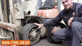 Forklift Tire Replacement