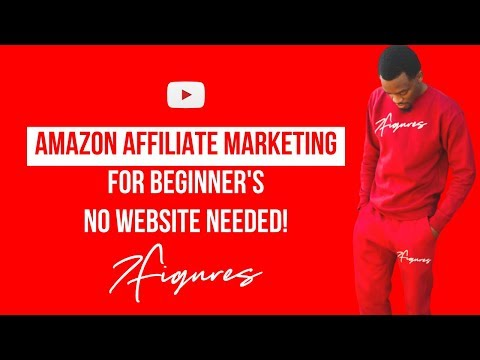 Amazon Affiliate Marketing Tutorial For Beginner's (NO Website Needed!) thumbnail